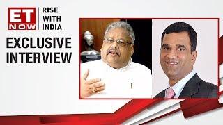 Rakesh Jhunjhunwala and Madhusudan Kela on investment mantra | ET Now Exclusive