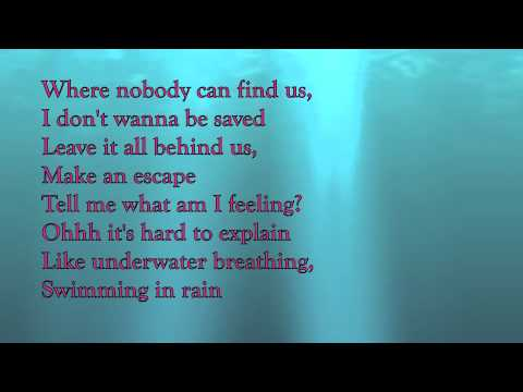 Marie Digby- Breathing Underwater Lyrics video