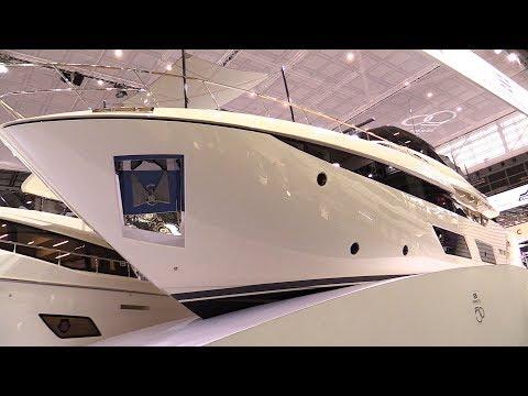 2018 Ferretti 920 Super Yacht - Walkaround - 2018 Boot Dusseldorf Boat Show