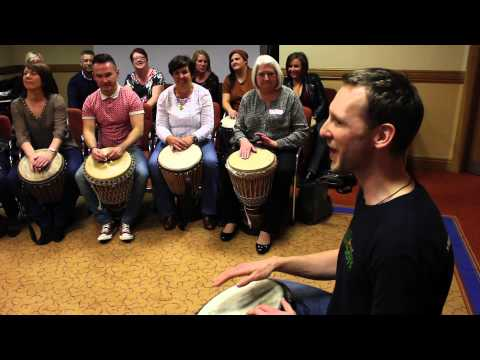 DRUMROOTS TEAM BUILDING AND CORPORATE DEVELOPMENT AFRICAN DRUMMING WORKSHOPS