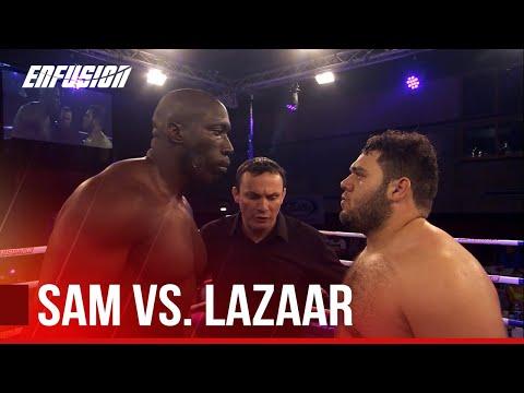 Daniel Sam(England) vs Ismael Lazaar(Morocco) Enfusion Live #19 London, England June 29th 2014 thumbnail