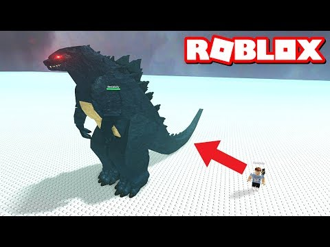 BECOME GODZILLA IN ROBLOX