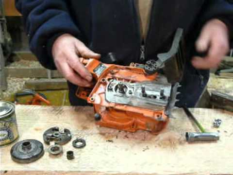 Husqvarna chain oil leak repair 346