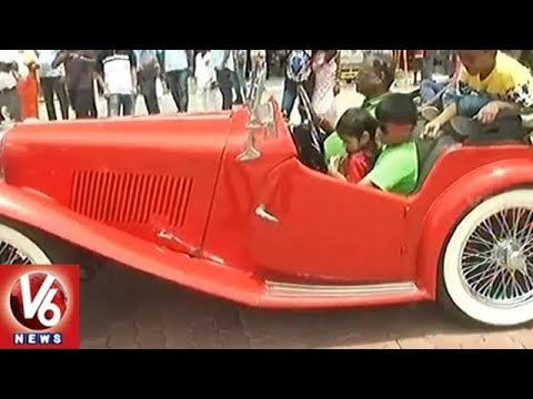 Rare Vintage Cars And Bikes Attracts Public At Chennai Heritage Auto Show 2018 | Chennai | V6 News