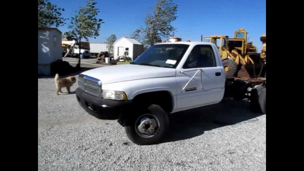 1994 Dodge Ram 3500 pickup truck cab and chassis for sale | sold at auction November 15, 2012 ...
