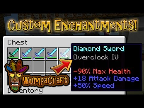 Custom/Fake Enchantments in Vanilla Minecraft!