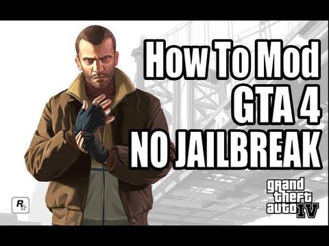 How To Mod GTA IV - No Jailbreak!