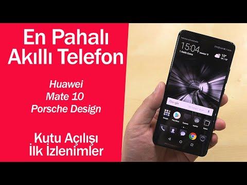 En pahalı akıllı telefon kutudan çıkıyor: Huawei Mate 10 Porsche Design ilk izlenimer