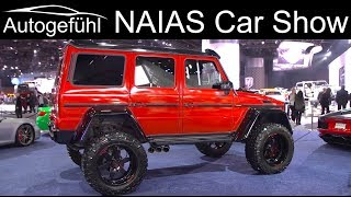 NAIAS Detroit Motor Show 2019 highlights REVIEW TOUR - Autogefühl