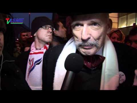 NIE Dla ACTA! Demonstracja Protestacyjna Internautów W Warszawie 24.01.2012
