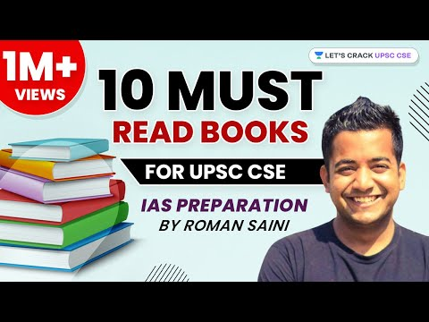 10 'Must-Read' Books for UPSC-CSE / IAS preparation by Roman Saini (Hindi)
