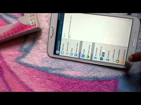 Samsung Galaxy Tab 3 8 inch depuracion USB