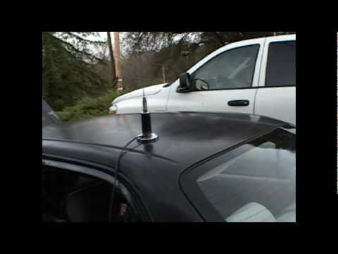 Prepper Intro To Vehicle NMO antenna Mount Install Part 2.