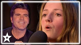 Download Lagu Kid Whitney Houston Gets Standing Ovation From Simon Cowell on BGT | Kids Got Talent Gratis Mp3 Pedia
