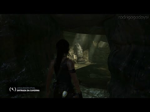Tomb Raider - Localização: Entrada da caverna