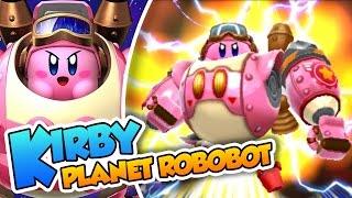 El Héroe despistado!  | #01 | Kirby Planet Robobot (3DS) en Español