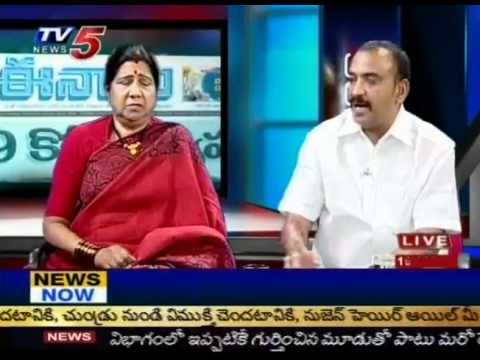 Debate On 'CBI Arrests Nimmagadda In Jagan Assets Case (TV5) - Part 07