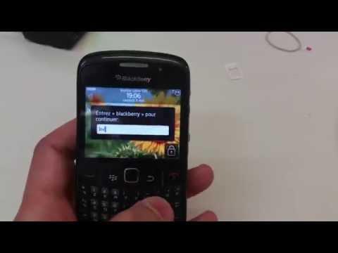 Reset Mot De Passe Blackberry Curve 8520 HardReset