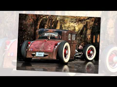 Rat Rod Studios ~ Halloween Hot Rods