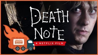 Death Note Netflix Movie Review - Kinda Funny Morning Show 09.01.17