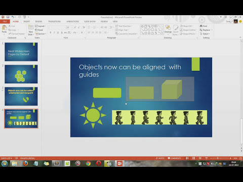 Microsoft Office 2013 Customer Preview- Powerpoint 2013 Feature demo