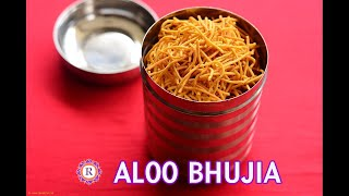 Aloo bhujia recipe, Potato sev, Diwali snacks