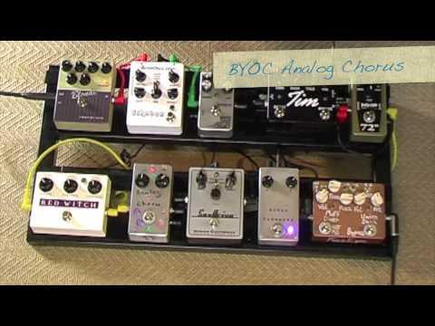 Tech 21 SansAmp Blonde - with pedals