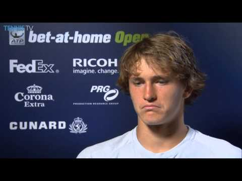 Hamburg 2014 Friday Interview Zverev