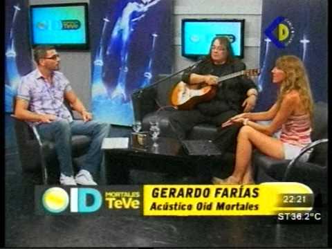 Gerardo Farías en Oid Mortales TeVe