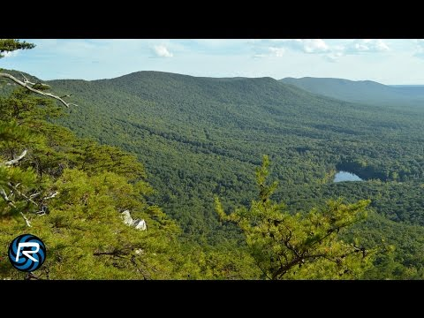 Flying Over Cheaha State Park & Bald Rock