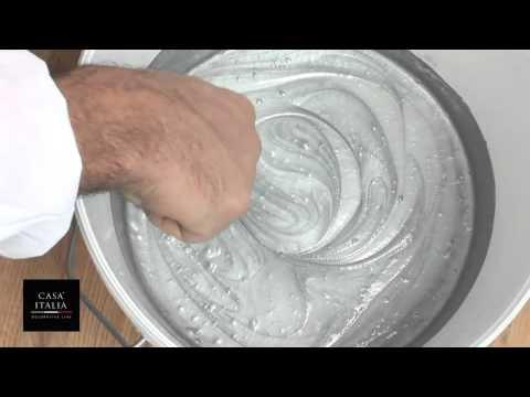 Ucic Samsara argento effetto pennellato - YouTube