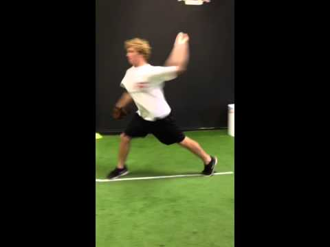 Scott Poindexter (Indianola Academy)... Flat Ground 2 Step Throws - 12/18/2013