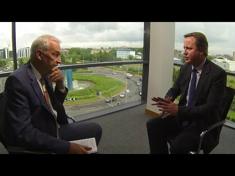 David Cameron: Jon Snow full interview on EU referendum and election expenses