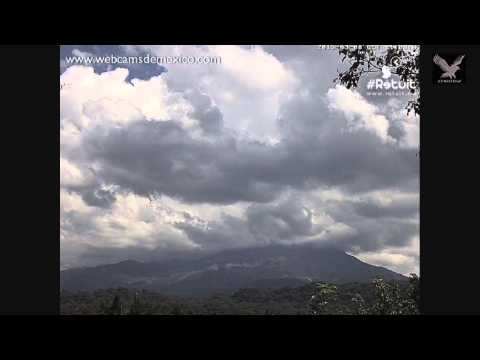 Volcan #Colima 3 8 15  1011am Cloudy Day  LVWOTWoF #Volcan #Volcanoes