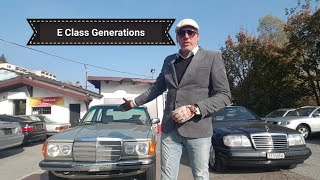 Mercedes-Benz W123 and W124 E Class history Driving With Gloves
