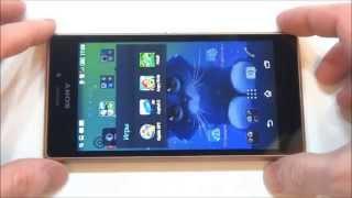 Sony Xperia M2 Aqua - итоговый обзор, демонстрация работы