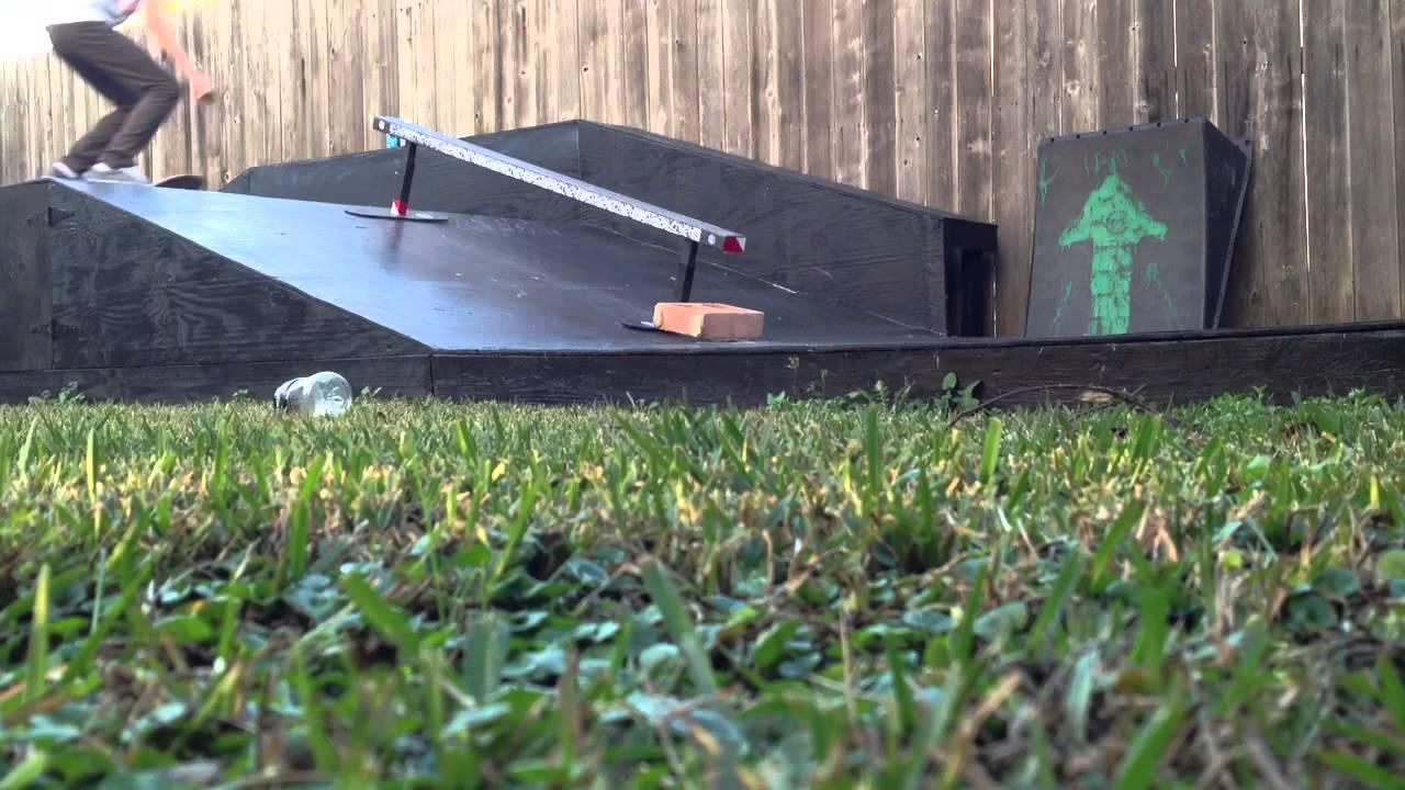 quick clips my backyard skatepark youtube