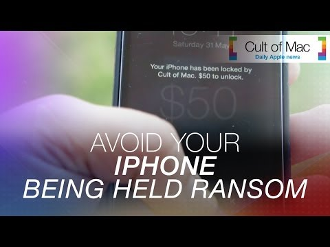 Avoid your iPhone being held Ransom!