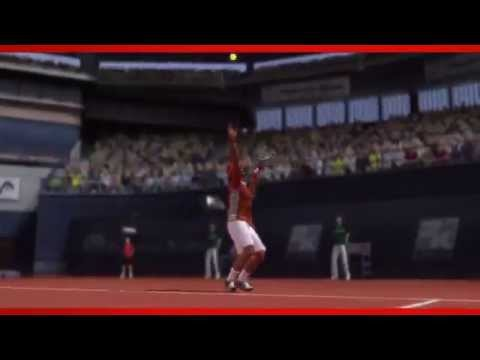 Official Top Spin 4 Championship tennis Novak Djokovic HD video game trailer - PS3 X360 Wii