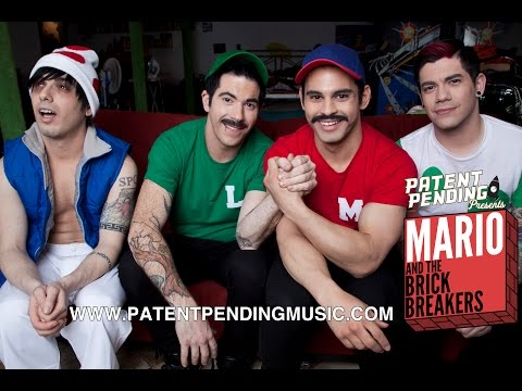 Mario And The Brick Breakers By: Patent Pending Real Life Mario Brothers Hey Mario