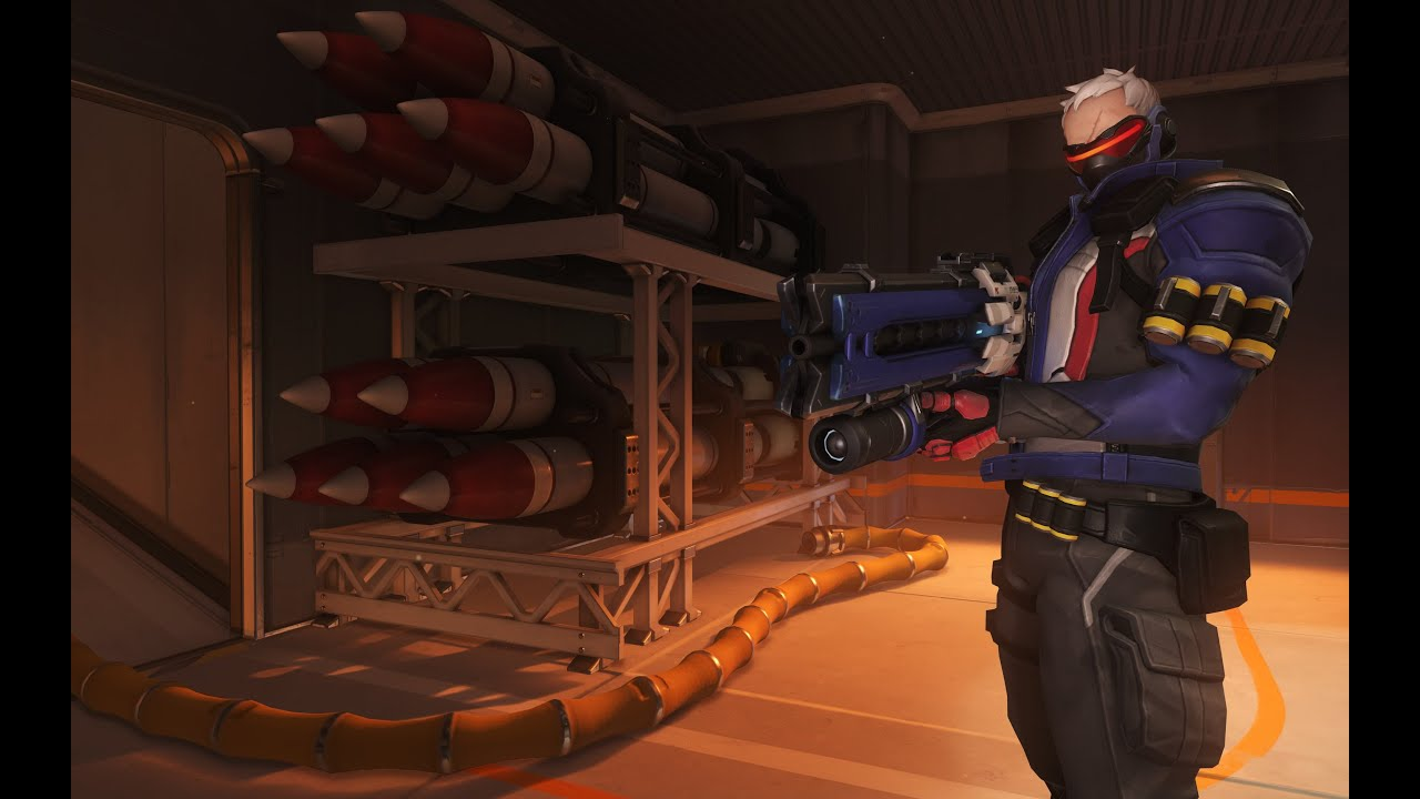Overwatch: Soldier 76's Official Origin Story Trailer