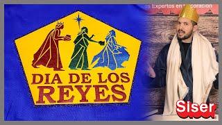 Celebrando el día de Reyes Magos con vinil textil Siser!