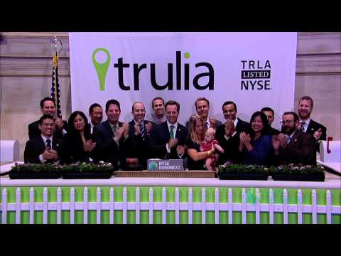 Trulia Lists IPO on the New York Stock Exchange