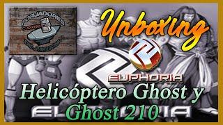 """Forjadores de Juegos: Unboxing Helicóptero Ghost y Ghost 210  """"Euphoria miniatures"""""""