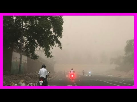 Breaking News | Dust storm likely to hit Delhi-NCR today