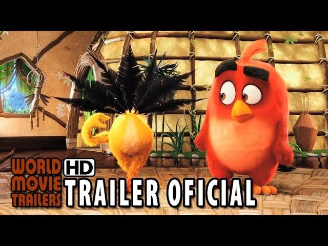 Angry Birds - O Filme Trailer Oficial Dublado (2016) HD