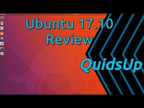 Ubuntu 17.10 Review - Now With Gnome Desktop