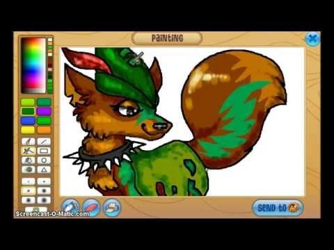 Animal Jam Tiger Drawings Animal Jam Speedpaint 15