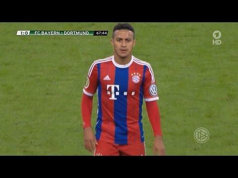 Thiago Alcântara vs Borussia Dortmund (28/04/15) Home HD 720p