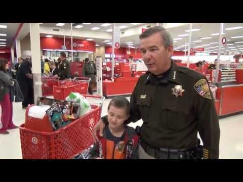 LVMPD Police take kids on shopping spree